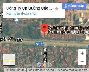 google map quảng cáo phương đông