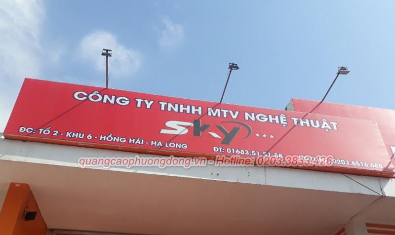 làm biển bạt tại Quảng Ninh