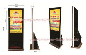 Cho thuê màn hình LCD quảng cáo chân đứng