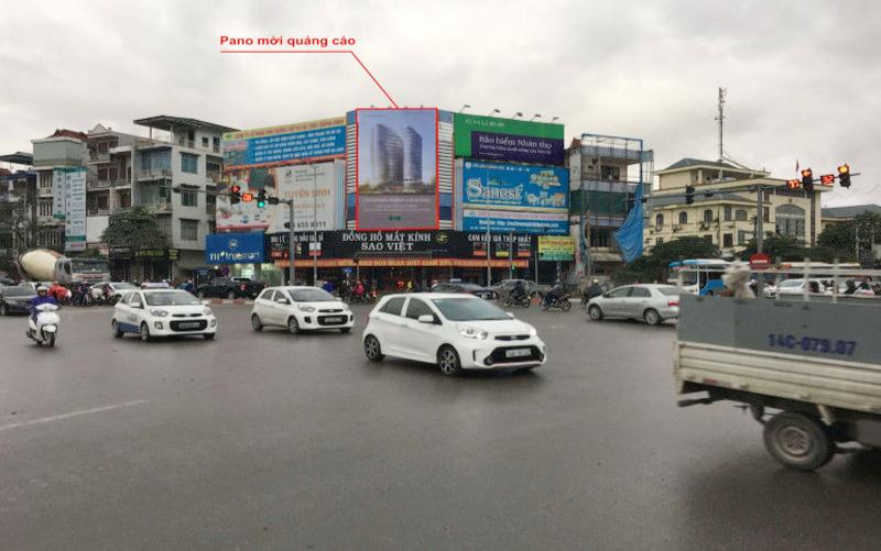 Pano quảng cáo tại Hạ Long - Ngã tư Loong Tòong 1