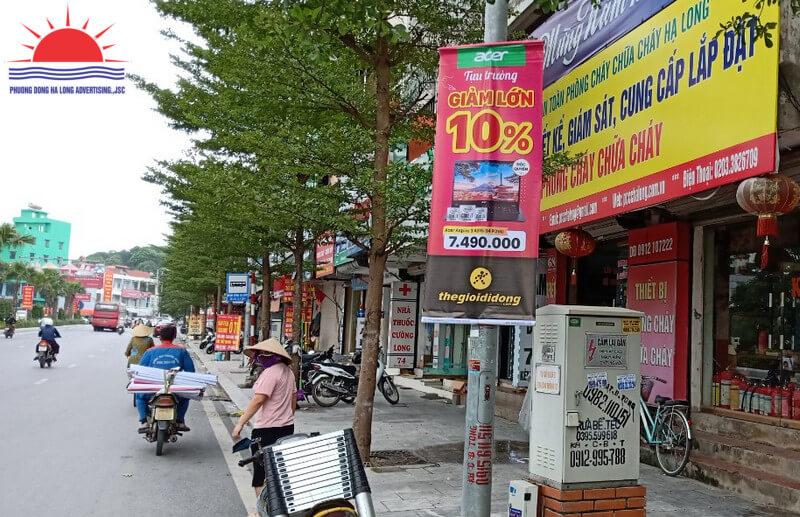 Treo banner thế giới di động tại Hạ Long, Quảng Ninh