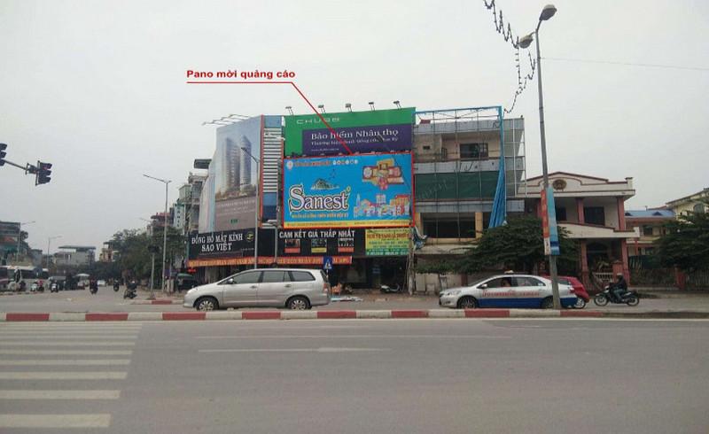 Pano quảng cáo tại Hạ Long - Ngã tư Loong Tòong