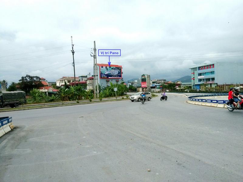 Vị trí pano ốp tường tại Uông Bí