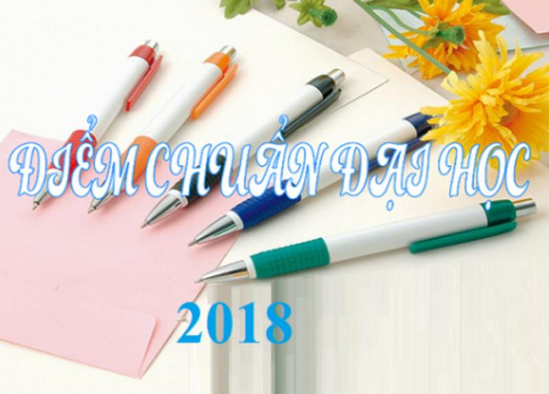 điểm chuẩn đại học năm 2018