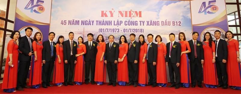 kỉ niệm 45 năm thành lập công ty xăng dầu B12 Quảng Ninh