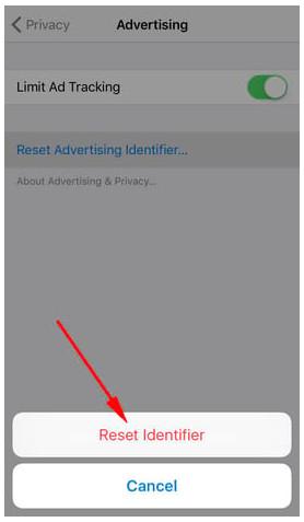 Tắt quảng cáo trên điện thoại iPhone