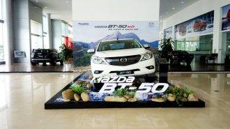 Công tác chuẩn bị ra mắt Mazda BT-50 tại ô tô Trường Hải Quảng Ninh