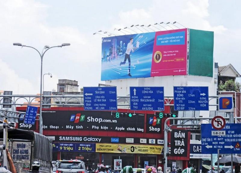 Quy định về lắp đặt biển quảng cáo ngoài trời tại một số vị trí trong nội thành