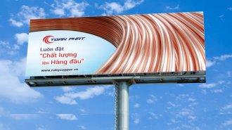 """Tổng hợp những """"nguyên tắc vàng"""" trong thiết kế biển quảng cáo ngoài trời"""