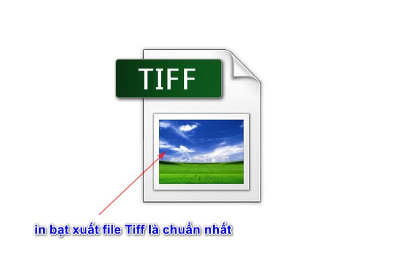 in bạt xuất file Tiff là chuẩn nhất