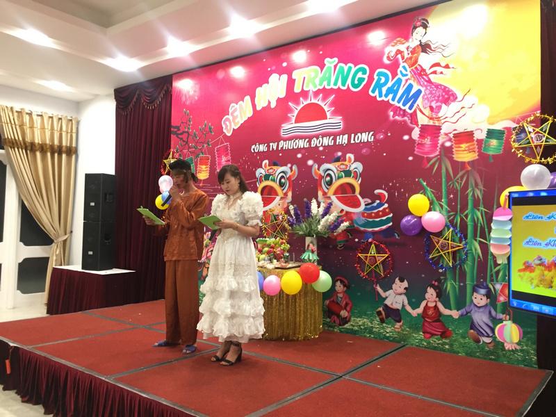 Công đoàn công ty Phương Đông Hạ Long tổ chức trung thu cho con em cán bộ nhân viên