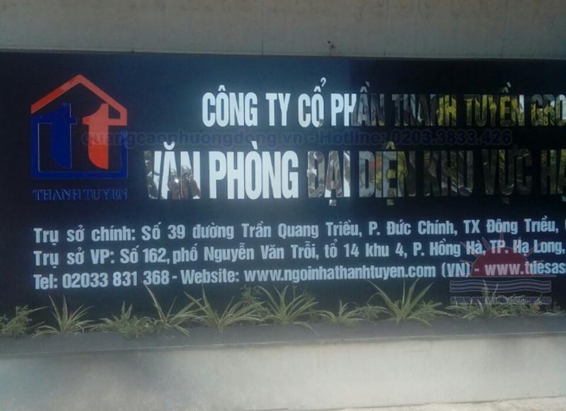 Địa chỉ làm biển quảng cáo tại Đông Triều