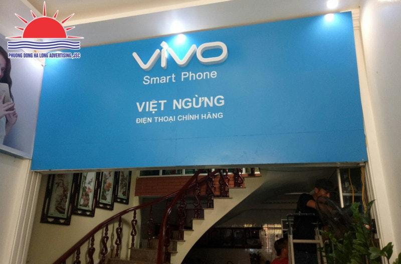 làm biển quảng cáo tại Uông Bí