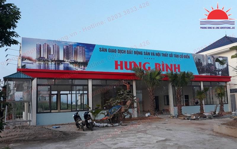 làm biển quảng cáo tại Quảng Yên