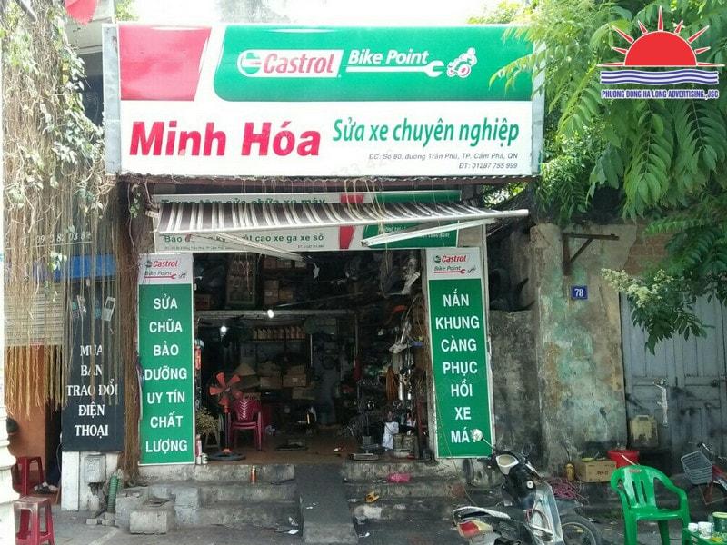 làm biển quảng cáo đẹp tại Cẩm Phả