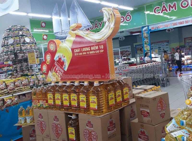 kệ trưng bày sản phẩm trong siêu thị tại Quảng Ninh