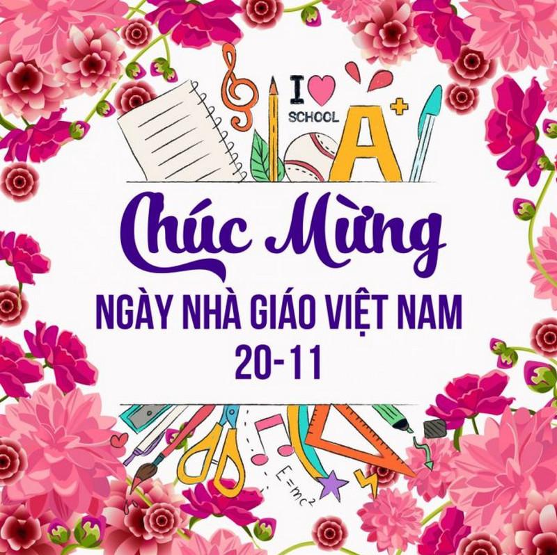 in backdrop kỉ niệm ngày nhà giáo Việt Nam 20/11 tại Quảng Ninh