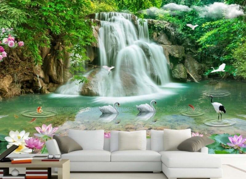 In tranh dán tường tại Quảng Ninh giá rẻ