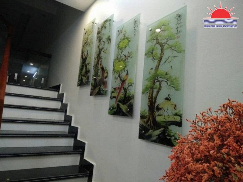 Dịch vụ in UV trên kính uy tín tại Quảng Ninh