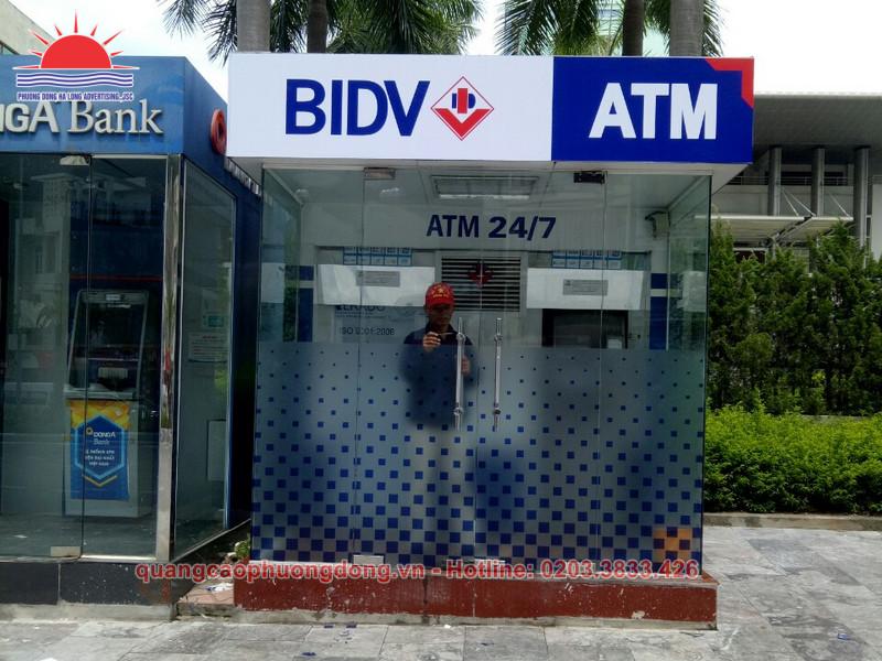 thi công cây rút tiền ATM tại Quảng Ninh