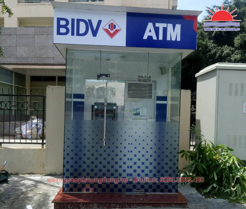 thi công Booth ATM BIDV tại Quảng Ninh