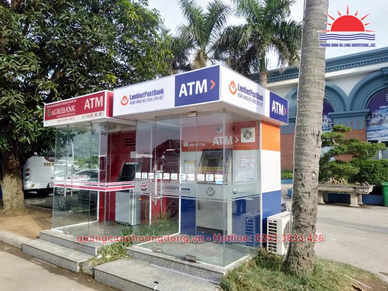 Thi công Booth ATM, cây rút tiền ATM tại Quảng Ninh