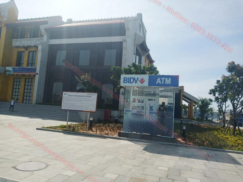 Thi công cây rút tiền ATM BIDV