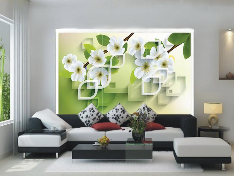 In uv gạch men trang trí nội thất