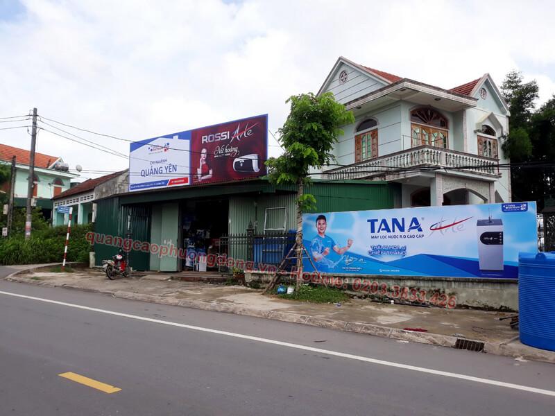 thiết kế và lắp đặt biển Tân Á Đại Thành ở thị xã Quảng Yên
