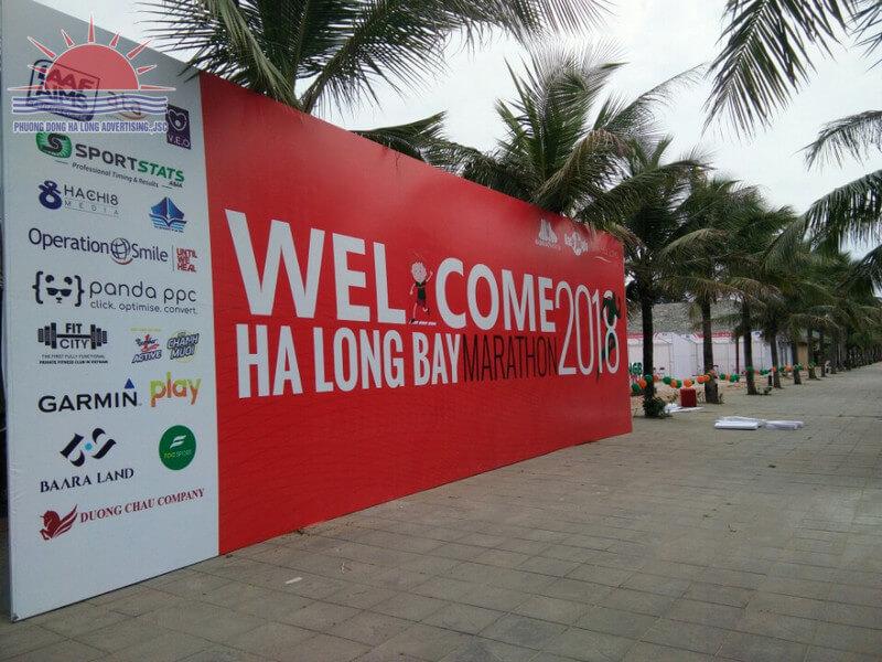 In pano giải marathon quốc tế tại Quảng Ninh
