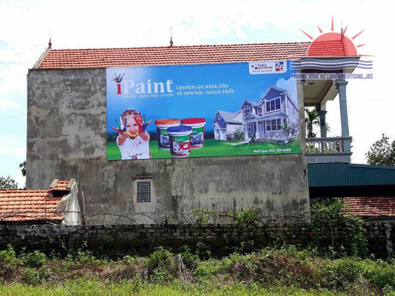 Thi công biển hiệu Tân Á Đại Thành tại Quảng Yên