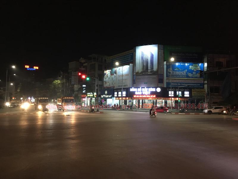 Tổng hợp những điều cần biết về đèn hắt biển quảng cáo