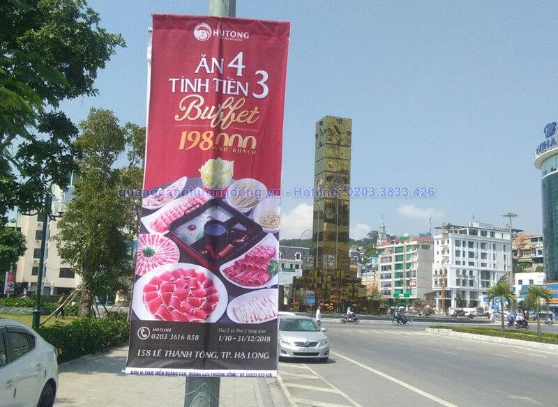 In treo banner nhà hàng Hutong