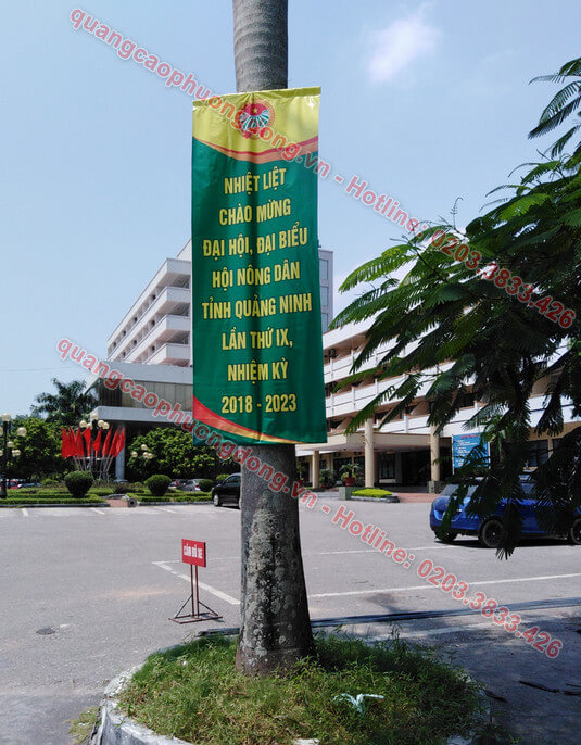 Treo banner sự kiện đại hội
