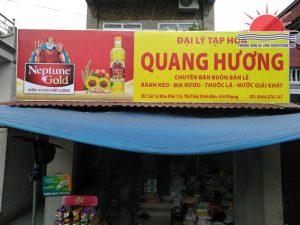 Biển Neptune Gold cửa hàng Quang Hương ở Hải Phòng
