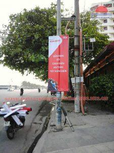 Treo banner Cadivi ở Hạ Long