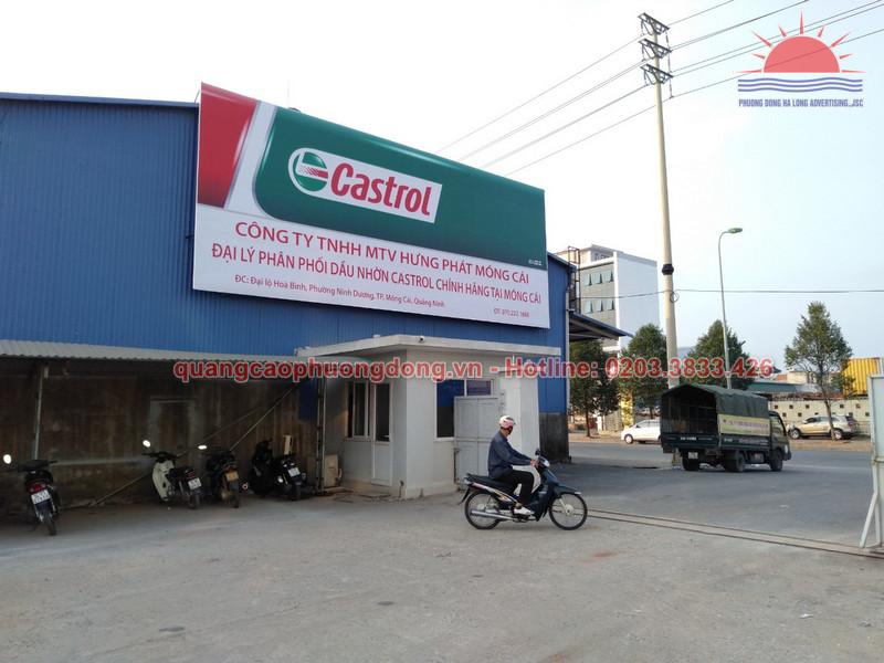Thi công biển hiệu công ty MTV Hưng Phát Móng Cái - Quảng Ninh