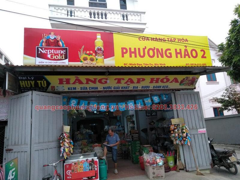 Làm biển Neptune Gold cửa hàng Phương Hảo cơ sở 2 ở Bắc Ninh