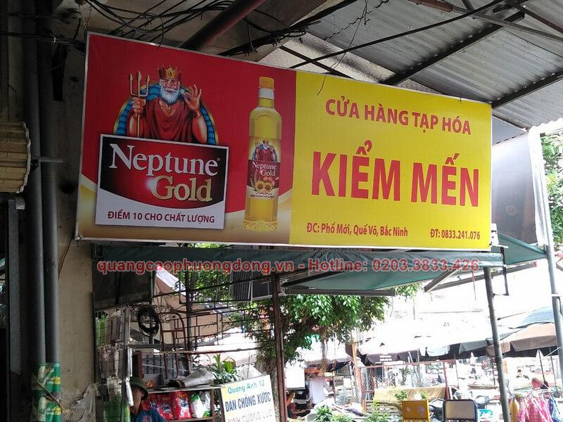 Thi công lắp đặt biển Neptune Gold tại Bắc Ninh
