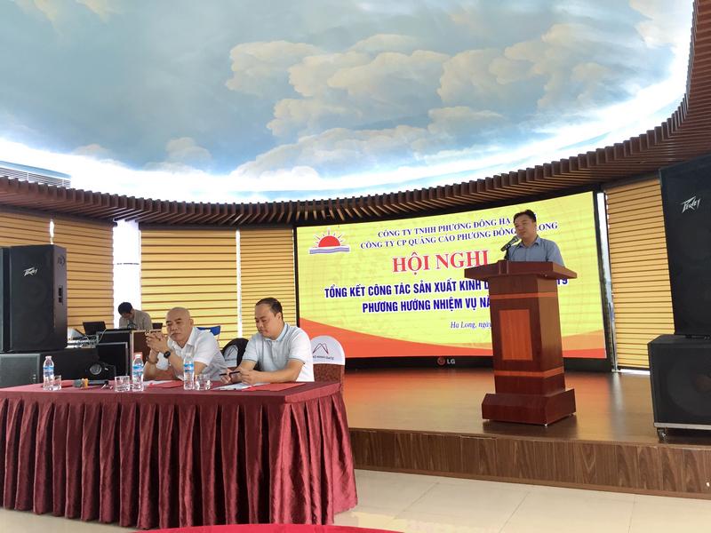 Anh Nguyễn Ngọc Tú - Giám đốc công ty phát biểu khai mạc đại hội