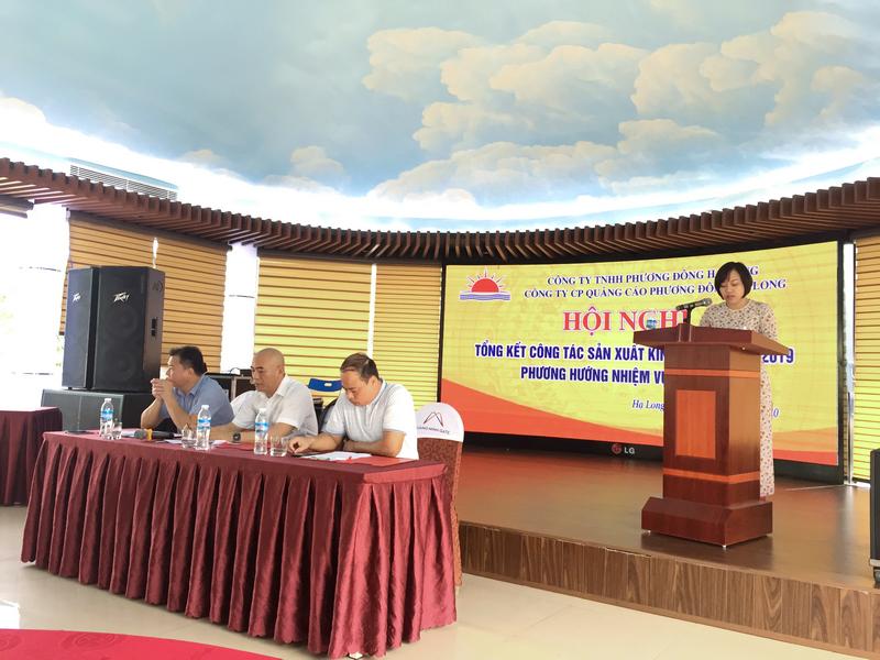 Tham luận của chị Nguyễn Kiều Oanh - NV Kinh doanh Quảng cáo Phương Đông