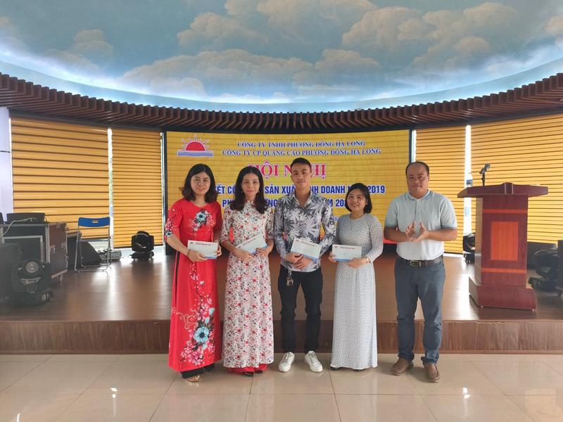 Khen thưởng của công đoàn công ty cho đoàn viên có thành tích tốt trong lao động sx