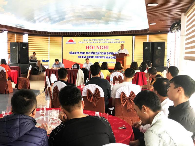 Ông Trịnh Văn Đông - CT HĐQT công ty phát biểu