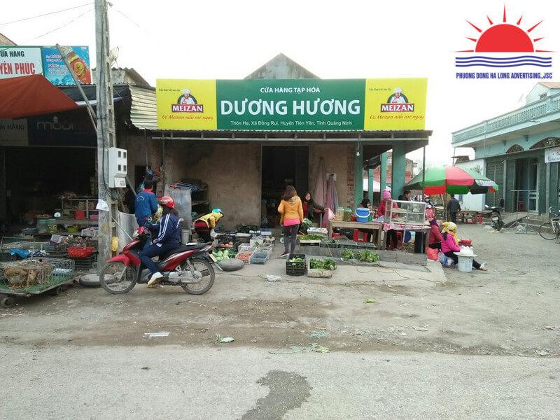 làm biển quảng cáo tại Tiên Yên, Quảng Ninh