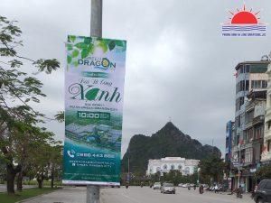 Treo băng rôn quảng cáo bất động sản tại Quảng Ninh hiệu quả