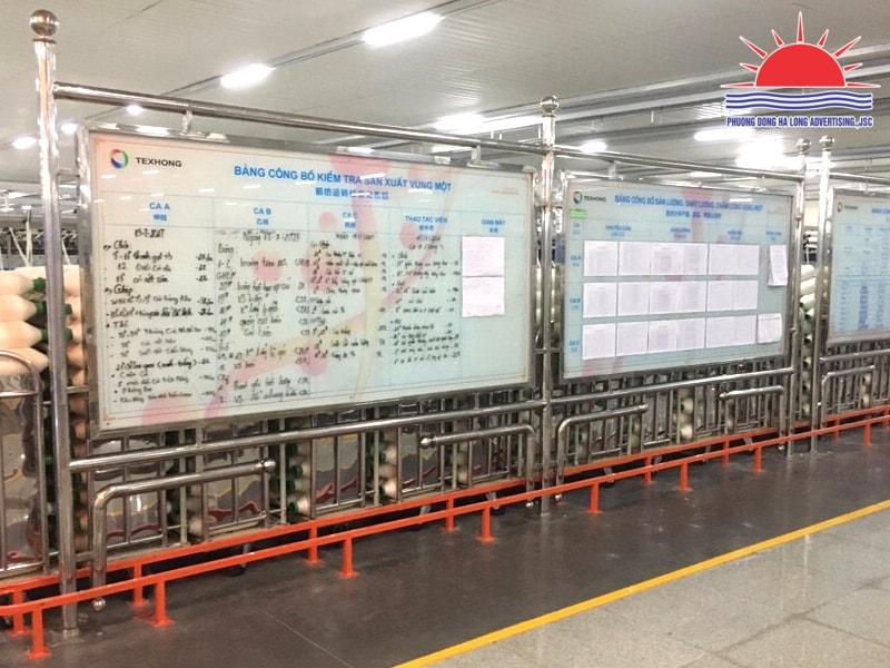 Thi công biển bảng trong nhà máy, khu công nghiệp tại Quảng Ninh