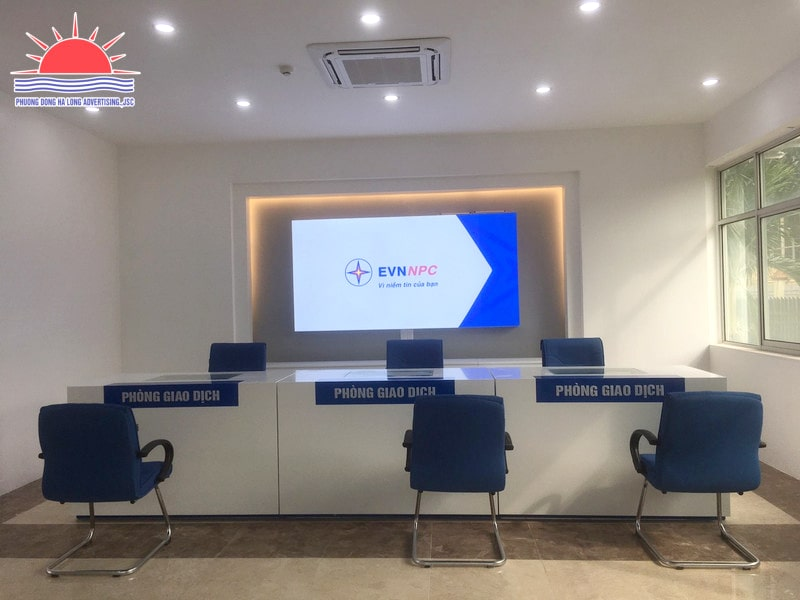 Backdrop quầy giao dịch