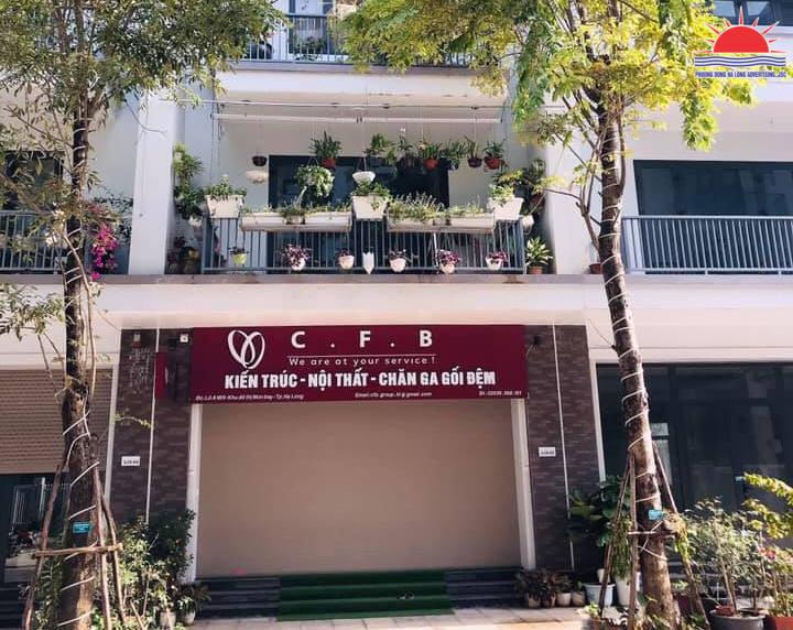 Biển công ty kiến trúc nội thất ở Hạ Long