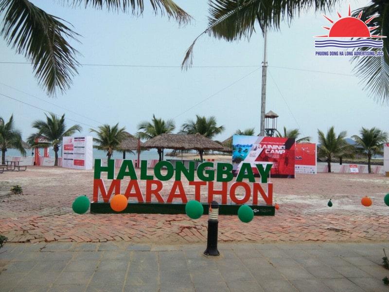 mô hình sự kiện marathon Hạ Long