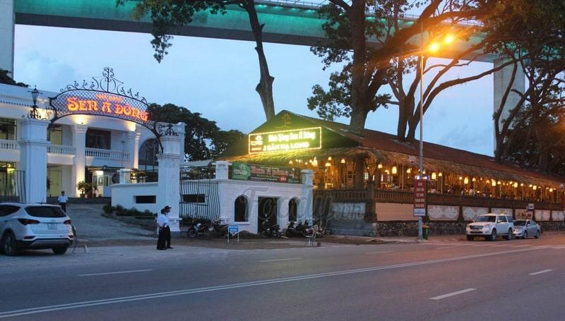mẫu biển quảng cáo nhà hàng hải sản đẹp tại Hạ Long